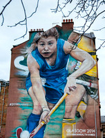 2014 Commonwealth Games Mural